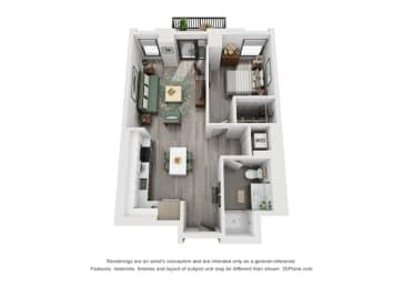 Floor Plan 1D