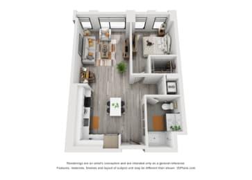 Floor Plan 1G