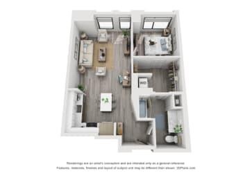 Floor Plan 1I