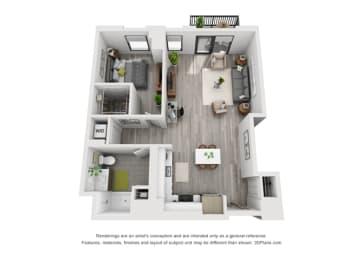 Floor Plan 1L
