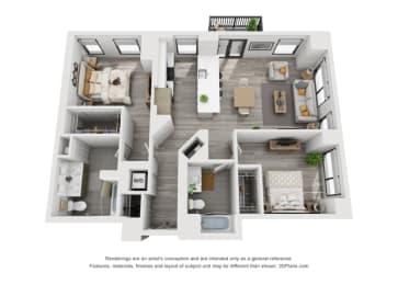 Floor Plan 2I