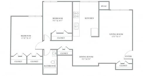 Floor Plan Fairfax