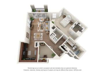 Floor Plan Hampton