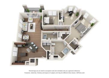 Floor Plan Monterrey