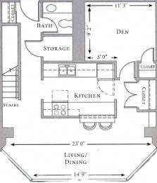 Floor Plan Doucett