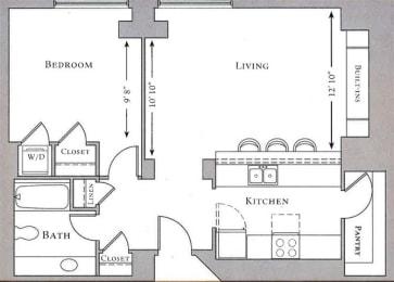 Floor Plan Minkoff