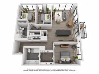 Floor Plan 508-608