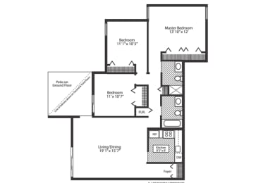 Floor Plan Oak