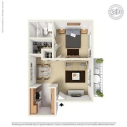 Floor Plan at Aviare Place, Midland, TX, 79705