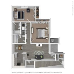 Floor Plan at Orion North Star, Michigan, 48105