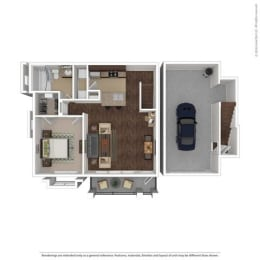 Floor Plan at Orion McCord Park, Little Elm