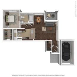 Floor Plan at Orion McCord Park, Little Elm, 75068