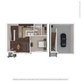 Floor Plan at Orion McCord Park, Texas, 75068