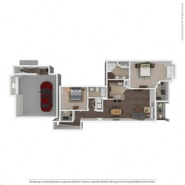 Floor Plan at Orion McKinney, Texas, opens a dialog
