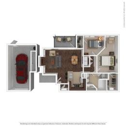 Floor Plan at Orion Prosper Lakes, Prosper, TX