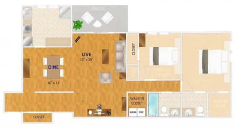 Floor Plan The Vienna