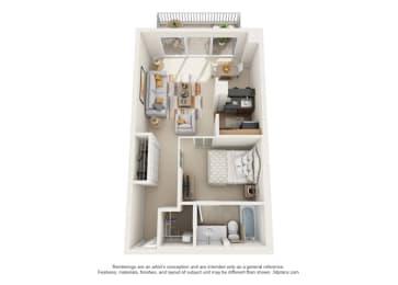 Floor Plan Calais - Oakbrook