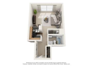 Floor Plan Dijon - West