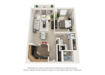 Floor Plan Toulon - West