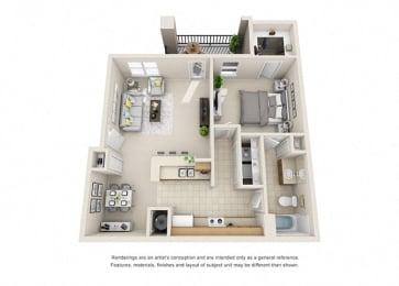 A4 Floor Plan at Amberjack Estates, Houston, Texas
