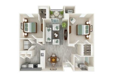 Floor Plan Capri (new construction)