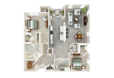 Floor Plan Palazzo (new construction)