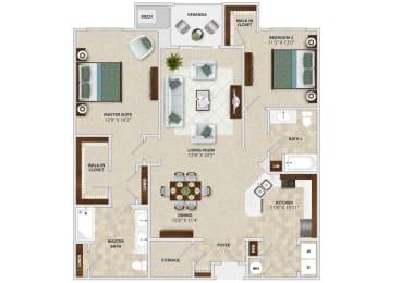 Verano Floor Plan