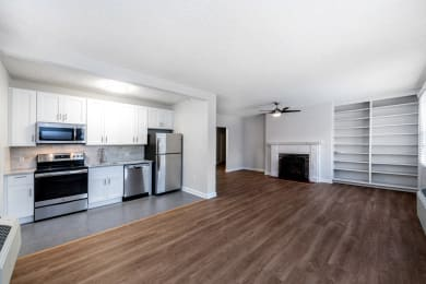 Renovated 1 bedroom with stainless steel appliances at Connecticut Plaza in Washington, DC