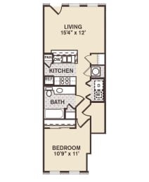 Rush Street Floor Plan at Providence at Old Meridian, Indiana, opens a dialog