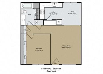 Floor Plan Davenport