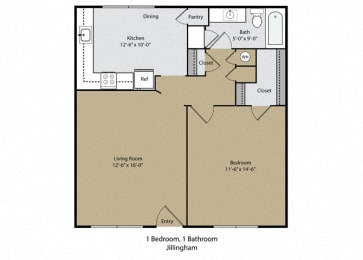 Floor Plan Jillingham