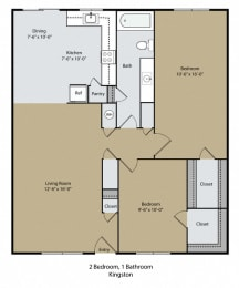Floor Plan Kingston