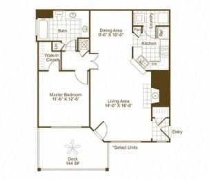 A2K floor plan