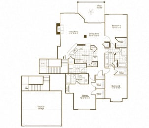 C2R floor plan