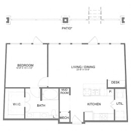 Floor Plan A8.1