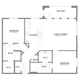 Floor Plan B2.1