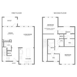 Floor Plan THB1