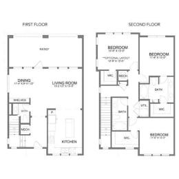 Floor Plan THC2.1