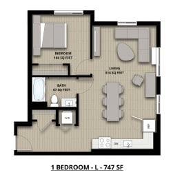 Floorplan L 1x1