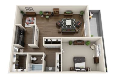 Floor Plan Hendrix