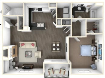Floor Plan 1X1DR