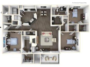 Floor Plan 3X2.5