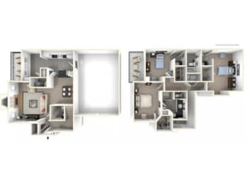 Floor Plan 3X2TH