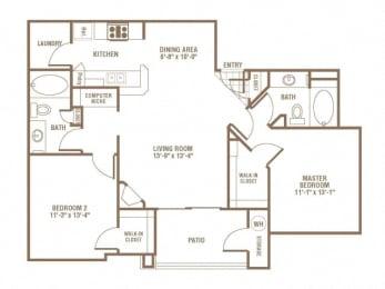 Floor Plan Goldeneye