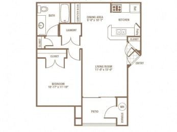 Floor Plan Meadowlark