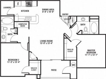 Goldeneye Floor Plan