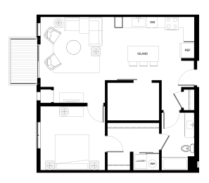 Floor Plan B7-1Den