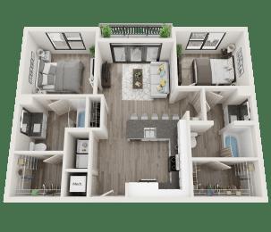 Floor Plan B3-A