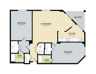 Floor Plan The Grand Cypress, opens a dialog