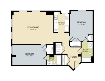 Floor Plan The Willow, opens a dialog